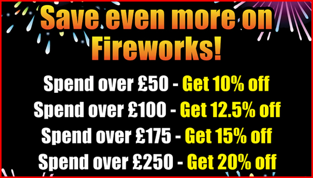 Save even more - Firework Discounts